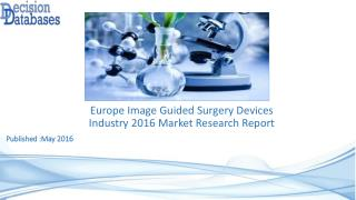 Image Guided Surgery Devices Market Analysis and Forecasts 2021