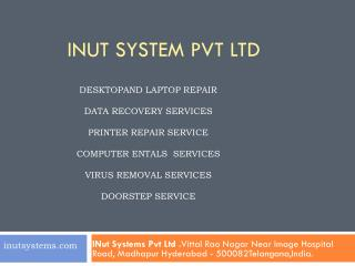 Computer Repair & Services Door Step in Hyderabad