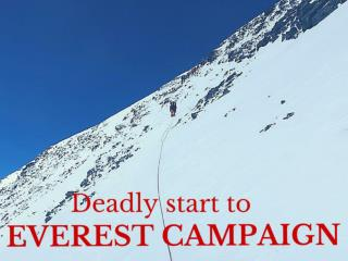 Deadly start to Everest campaign