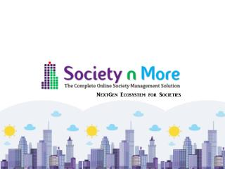 Online Society Management | Accounting & Billing Software | Societynmore