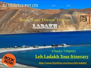 Book Your Dream Trip to Ladakh with Leh Ladakh Tourism Packages