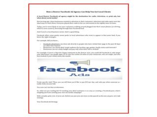 Hire Best ad words & paid search Facebook Ad Management agency at very competitive prices