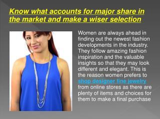 Shop Designer Fine Jewelry