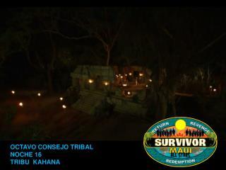 Survivor Maui Consejo 8