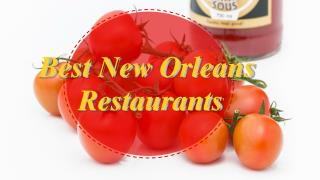 Best New Orleans Restaurants