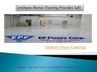 Sanitary Floor Coatings