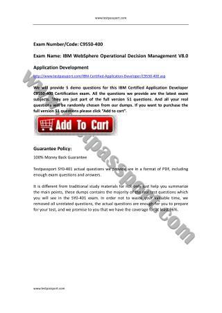 Crack IBM Application Developer C9550-400 exam questions