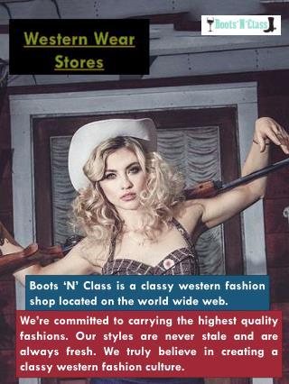 Western Wear For Women