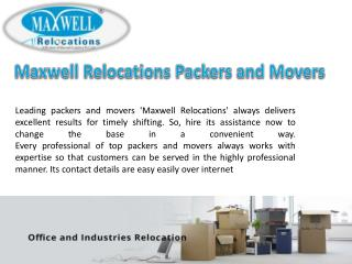 Packers and Movers Makes You a Happy Customer