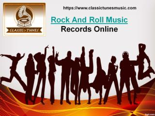 Order Rock And Roll Music Records Online In Louisiana