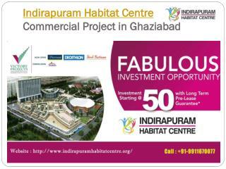 Indirapuram Habitat Centre retail shops in Ghaziabad