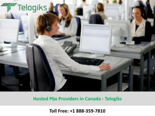 Hosted Pbx Providers in Canada – Telogiks