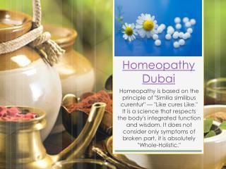 Homeopathy Dubai