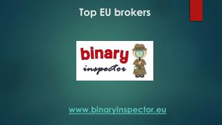 Top EU brokers