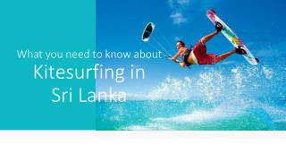 Definitive Guide for Kalpitiya Kitesurfing