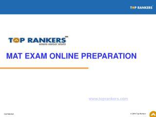 Mat Exam | MAT Sample Papers | MAT Practice Online Test