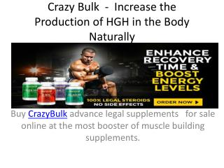 Crazy Bulk Reviews  -  Muscle Gainer and Improve the Energy Level