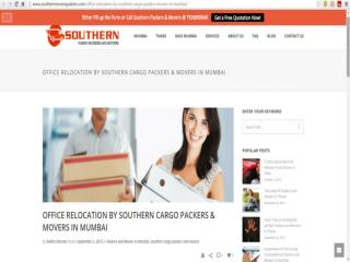 Office Relocation by Southern Cargo Packers and Movers in Mumbai