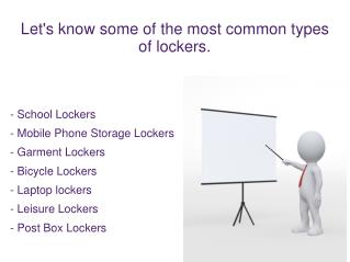 The Most Common Types Of Lockers