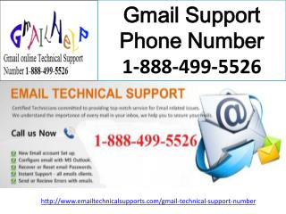 Gmail Support Phone Number 1-888-499-5526
