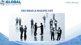 CKO Email & Mailing List
