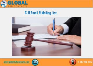 CLO Email & Mailing List