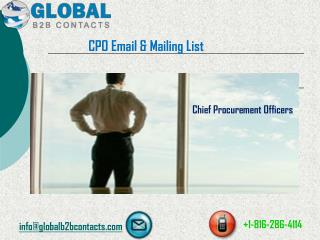 CPO Email & Mailing List
