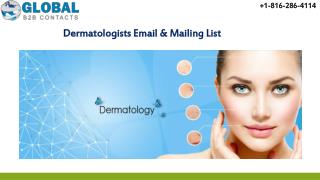 Dermatologists Email & Mailing List