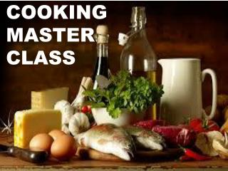 Cooking Master classes by Christophestanic