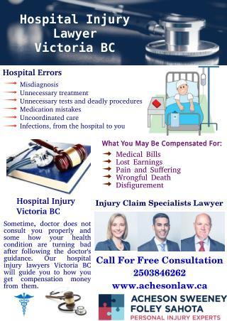 Hospital Injury Victoria BC