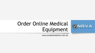 Order Online Medical Equipment