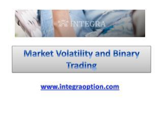 Market Volatility and Binary Trading