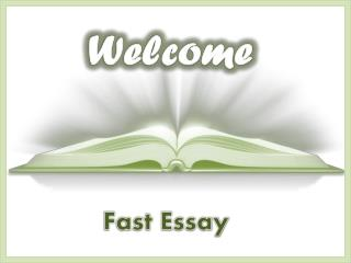 FastEssay - Leading Company in Provision of Writing Services