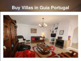 Buy Villas in Guia Portugal