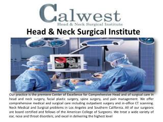 Nasal Surgery in Westlake Village