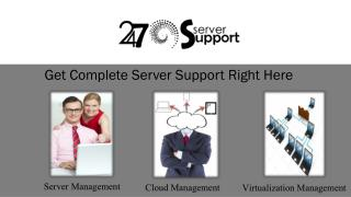 Get Hold Of Your Server With Server Management Services -24x7