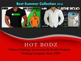 Hot Bodz: Gym Clothing, Bodybuilding, Fitness Wear