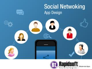 Social Networking App-Rapidsoft Technologies