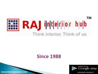 Latest interior products provider.