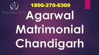 Agarwal Matrimonial Chandigarh