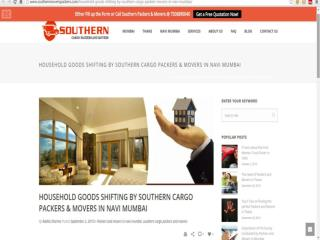 Household Goods Shifting by Southern Cargo Packers and Movers in Navi Mumbai