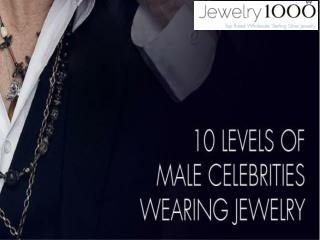 10 Levels Of Male Celebrities Wearing Jewelry