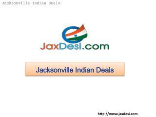 Jacksonville Indian Deals