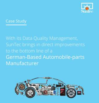Automobile-Parts Manufacturer - CaseStudy - SunTecWebServices