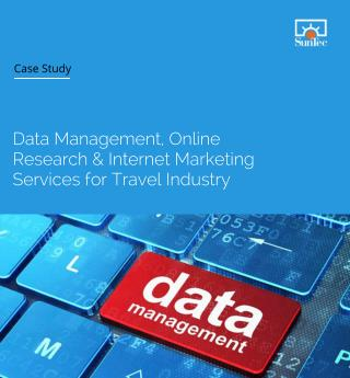 Data management, Online Research & Internet Marketing Services for Travel Industry