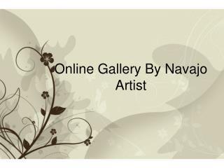 Online Gallery By Navajo Artist