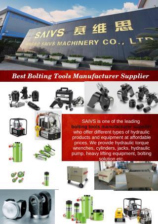 Best Bolting Tools Manufacturer Supplier