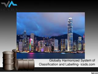 Globally harmonized system of classification and labelling icsds.com