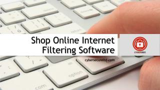Shop Online Internet Filtering Software