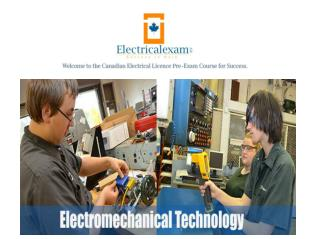 Electromechanical School | Technology Programs | Electrical Exam